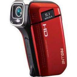 Camescope de poche Proline PL PVC 504 - 720p Rouge