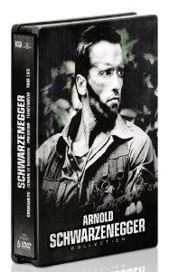 Coffret 5 DVD Arnold Schwarzenegger (Predator + Commando+ ...) - Edition limitée boitier métal
