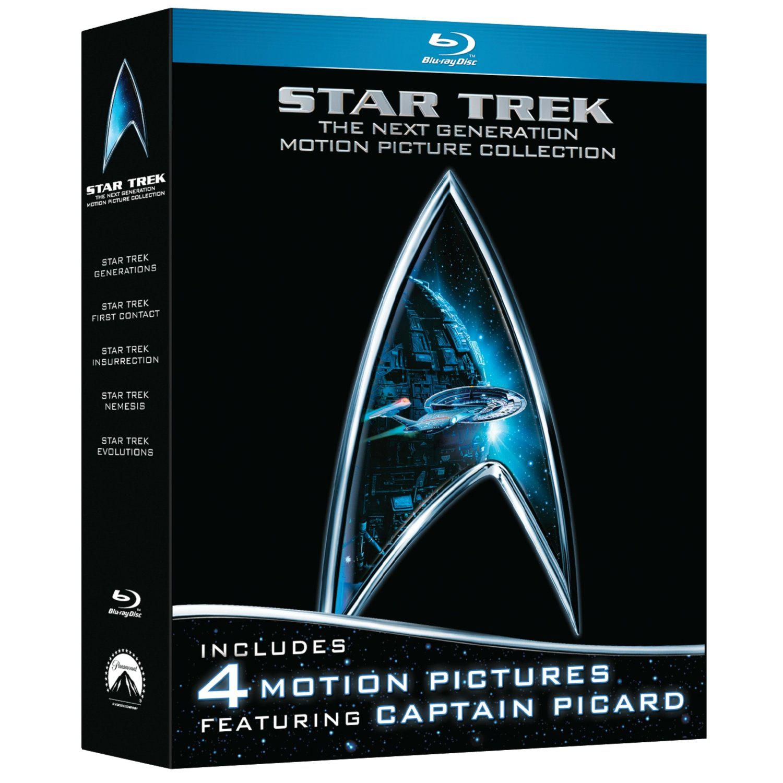 Coffret Blu-ray Star Trek - The Next Generation Movie Collection
