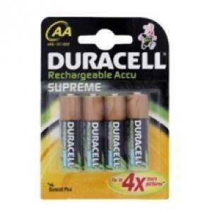 Piles Rechargeables Duracell Accu 4 x AA 1700mAh Ni-MH (Pack de 4)