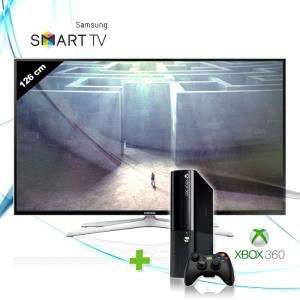 "Pack TV LED Smart TV 3D 50"" Samsung 50H6400 + Console Xbox 360 4Go"