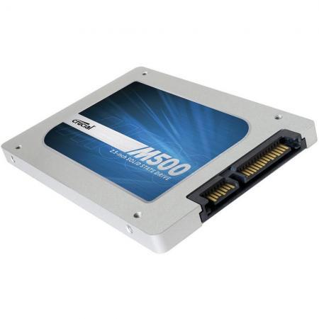 "SSD 2.5"" Crucial M500 480Go - SATA III - 500/400Mo/s"