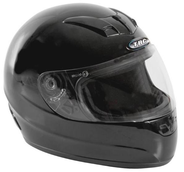 Casque moto intégral TBC Noir