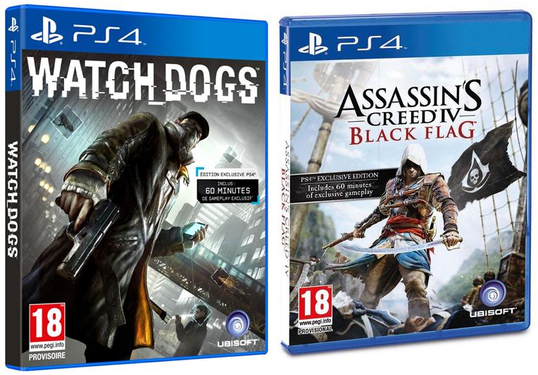 Watch Dogs acheté = Assassin's Creed IV à 30€ (sur PS4, PS3, XBOX One, XBOX 360, PC)