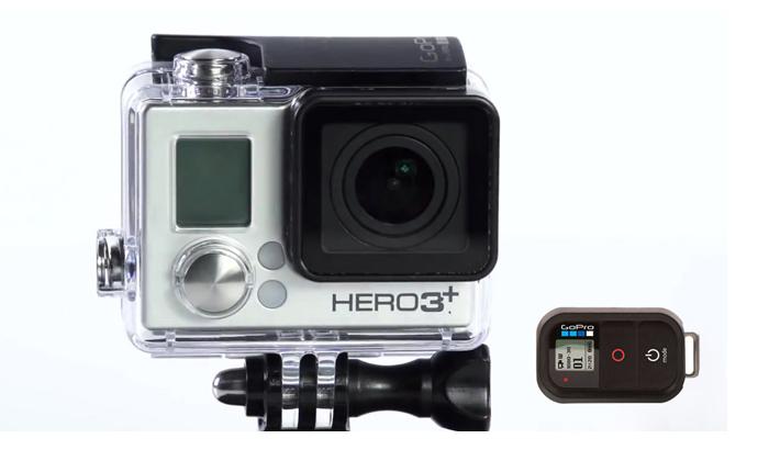 Caméra Gopro Hero 3+ Black edition