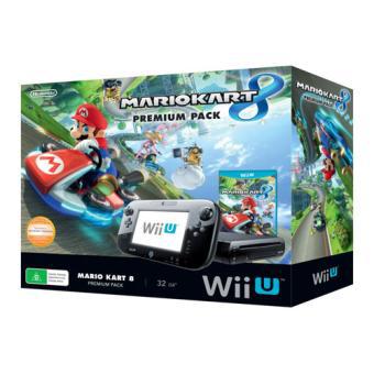 Console Wii U Premium Mario Kart 8 Pack 32 Go Nintendo