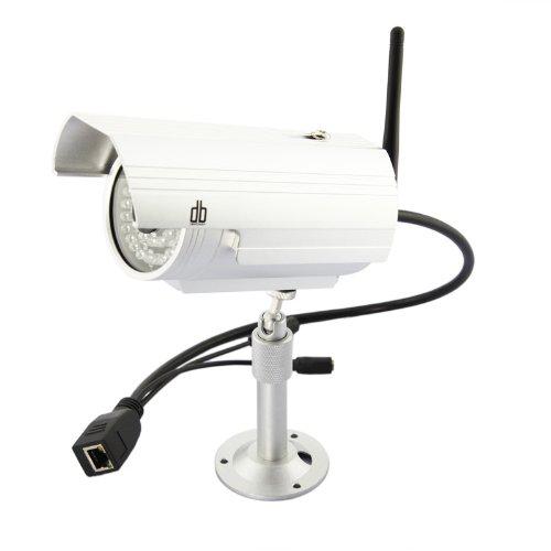 Caméra IP extérieure WiFi avec vision nocturne et détection de mouvement DB Power (3 couleurs disponibles)