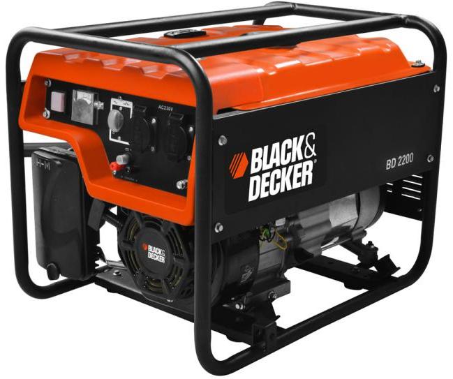Groupe électrogène portable Black & Decker BD 2200 2000W