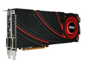 Carte graphique MSI ATI Radeon R290X R9 290X 4GD5