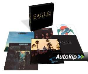Coffret CD The Eagles - The Studio Albums 1972-1979
