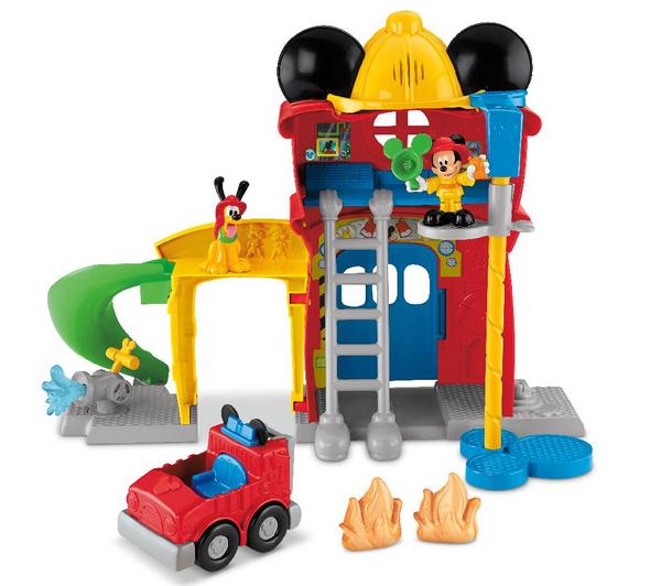 Caserne de pompiers Fisher Price Mickey