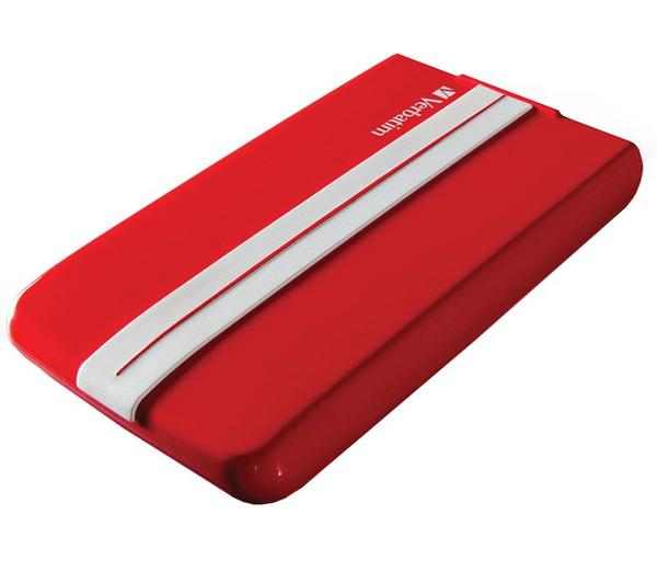 "Disque dur externe 2.5"" Verbatim GT SuperSpeed - 1 To, USB3.0, Rouge"