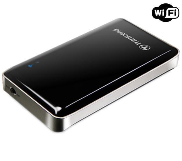 SSD externe portable Transcend StoreJet Cloud WiFi - 64 Go USB 2.0