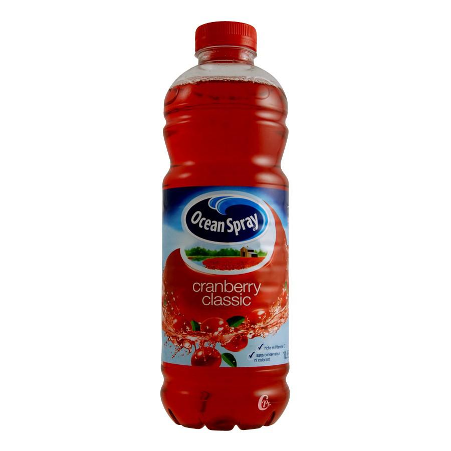 3 bouteilles d'Ocean Spray (50% sur carte fidélité)
