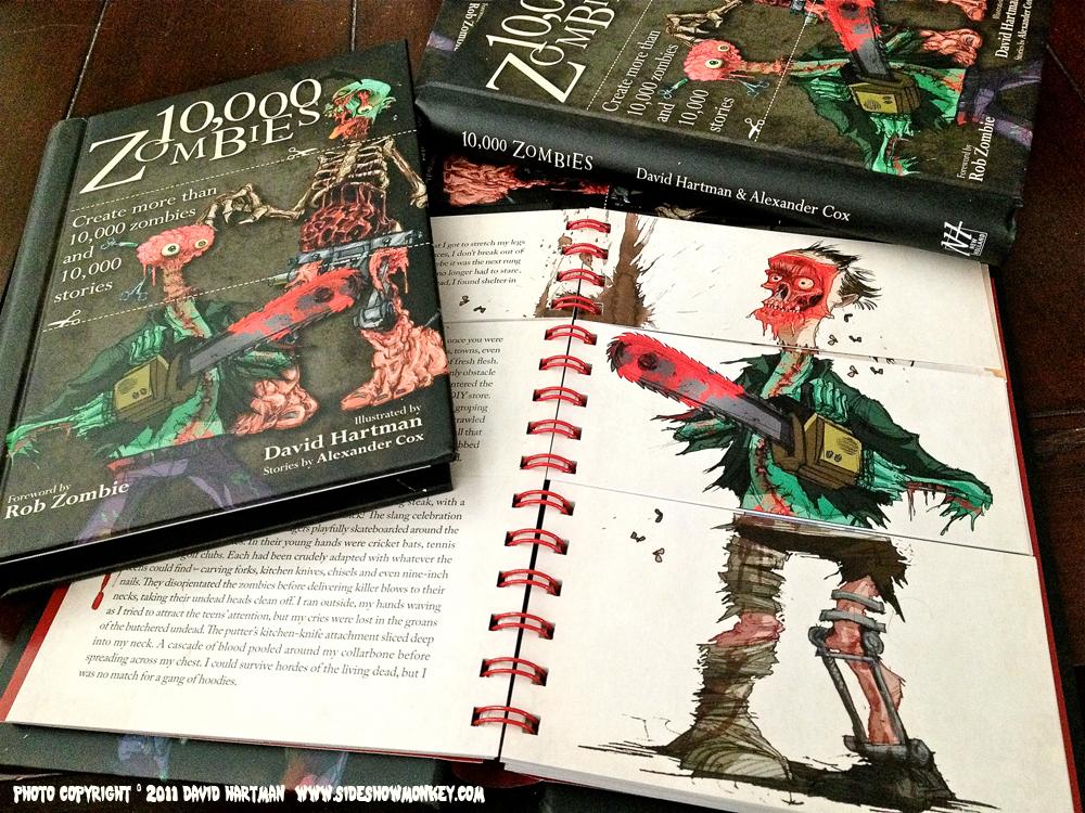 Livres neufs en promotion - Ex : 10 000 zombies - 10 000 histoires à créer