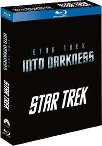 Coffret 2 Blu-ray Star Trek + Into Darkness (Import Italie - VF Incluse)