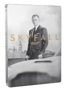 Skyfall - Édition limitée collector Steelbook (Blu-Ray + DVD + 8 cartes postales)