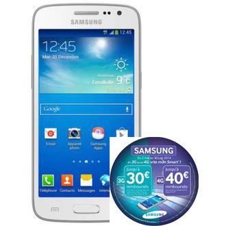 Smartphone Samsung Galaxy Core 4G Blanc (avec ODR 40€)