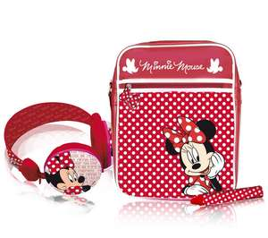 Pack accessoires tablette Minnie Ingo : Casque, stylet, sacoche