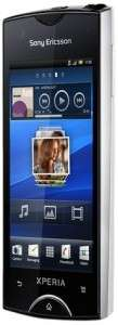 Smartphone Sony Ericsson Xperia Ray - WiFi/aGPS/Bluetooth/MicroUSB - Blanc