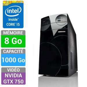 Promotion sur 4 PC gamer Medion - Ex: Medion Akoya P5254E (i5-4440, GTX750, 8 Go RAM, 1 To)