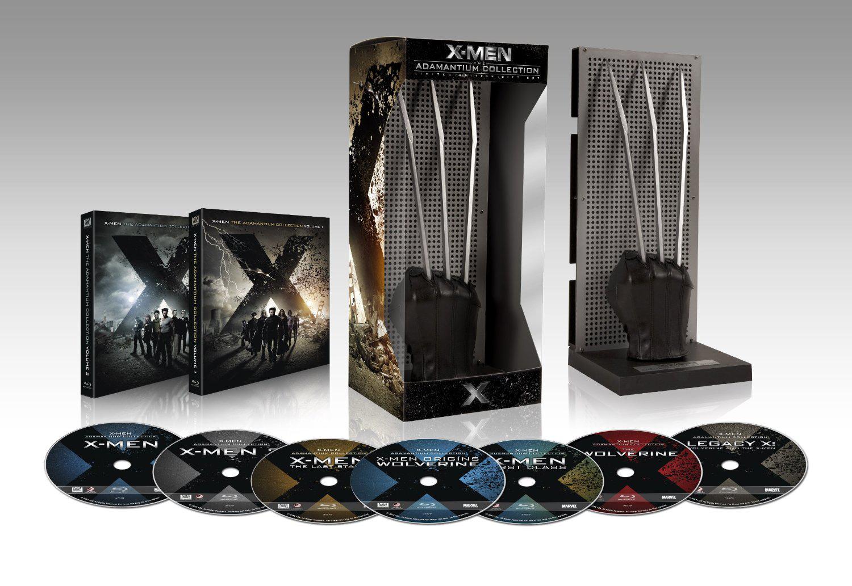Coffret Blu-ray X-Men et Wolverine : Intégrale 6 films - Edition Limitée Adamantium