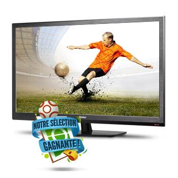 """TV LED 32"""" Haier LET32C800H HDTV (720p)"""