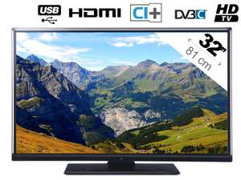 "TV LED 32"" Techwood TK32D14HD HDTV, USB (+ 10€ offerts en bon d'achat, valable dès 100€)"