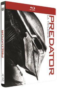 Coffret Blu-ray Predator : La trilogie - Edition limitée boitier métal