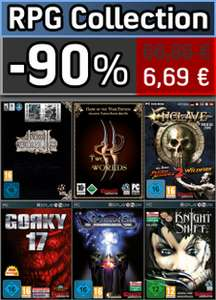 RPG Collection (Two Worlds GotY, Two Worlds II GotY...) sur PC - Clé steam