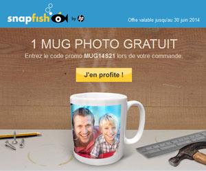 1 Mug Personnalisé Photo Gratuit (3.95u20ac De Port)