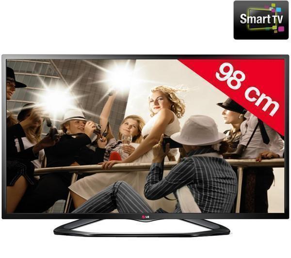 """TV LED 39"""" LG 39LN575S (3 HDMI / 3 USB / Tuner Sat / Enregistrement USB / SmartTV / WiFi / Ethernet)"""