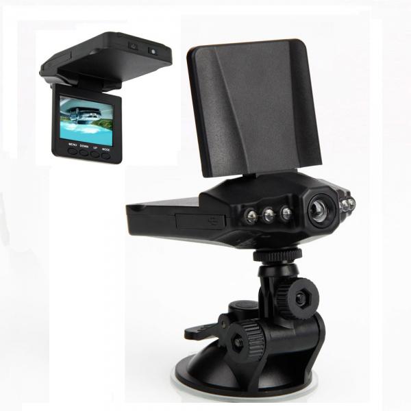 """Dashcam 2.5"""" HD USB 2.0 6 IR LED avec vision nocture"""