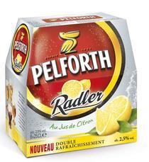 Pack de 6x25cl Pelforth Radler Pamplemousse Rose ou Citron gratuit (au lieu de 4.31€)