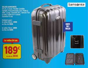 Valise Samsonite Cubelite Upright 54cm