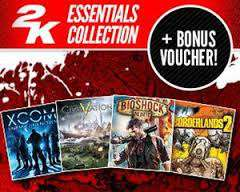 5 Jeux 2K Essentials Collection sur PC (Steam)