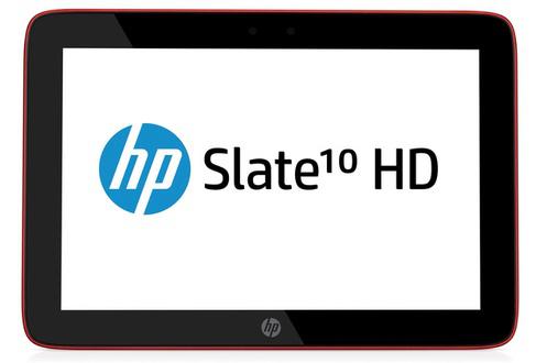 Tablette HP Slate 10 HD Rouge 16Go