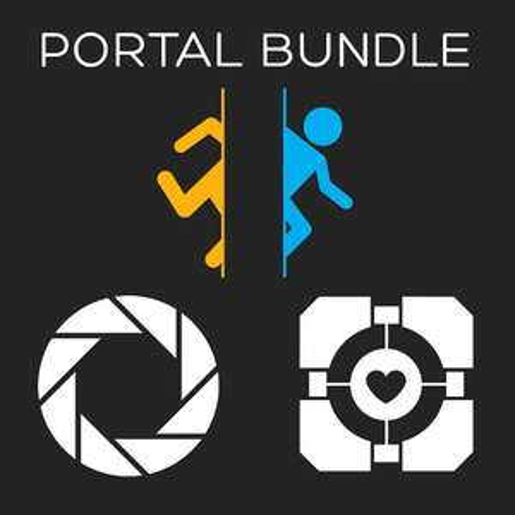 Jeu PC Portal 1 & 2 (dématérialisé - Steam)