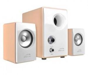 Haut-parleurs Speedlink SL-8209-SWT pour PC Vivo 2.1 avec Subwoofer blanc