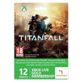 Abonnement 13 mois au Xbox Live Gold + Emblème Titanfall