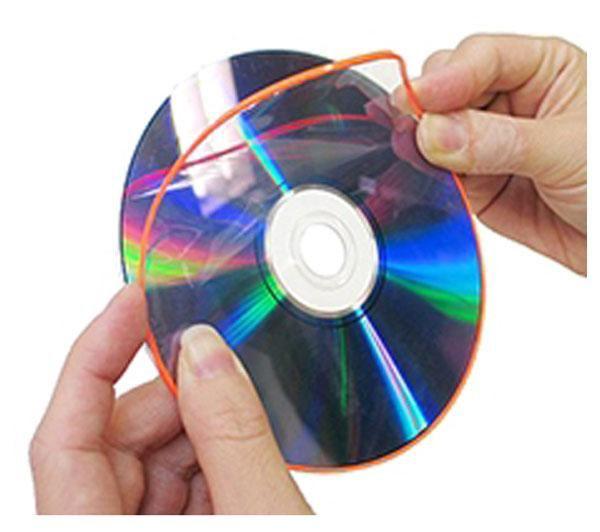 Boîte de 20 film de protection DSKIN pour CD/DVD