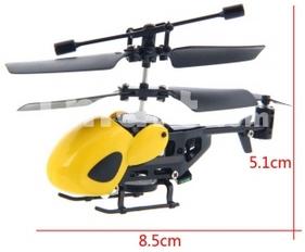 Hélicoptère télécommandé nano QS QS5010 3 canaux avec gyro