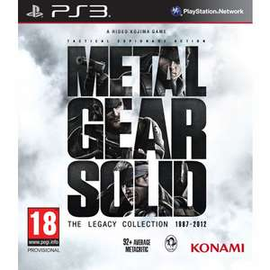 Jeu PS3  Metal Gear Solid The Legacy Collection