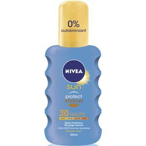 Protection Protect & Bronze Nivea Sun (Sensitive, Kids, ...) SPF 30 ou 50 - 200ml (40% sur la carte)