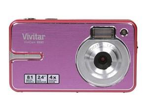 Appareil photo idéal pour un enfant VIVITAR V8690 Rose