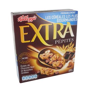 Paquet de céréales extra pépites Kellog's 500g (via C-Wallet)