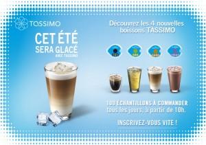 100 échantillons gratuits de quatre nouvelles boissons à tester Tassimo