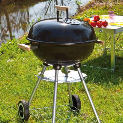 Le 14/06 : Barbecue charbon en acier/fer