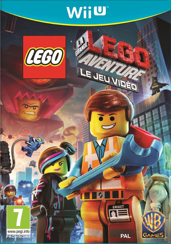 Lego La Grande Aventure : Le Jeu Video  sur Wii U