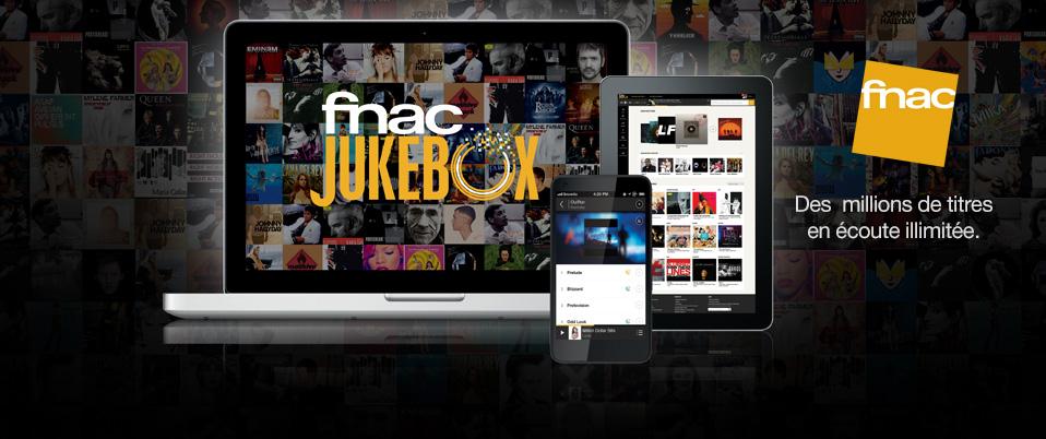 1 Mois d'accès gratuit à Fnac Jukebox